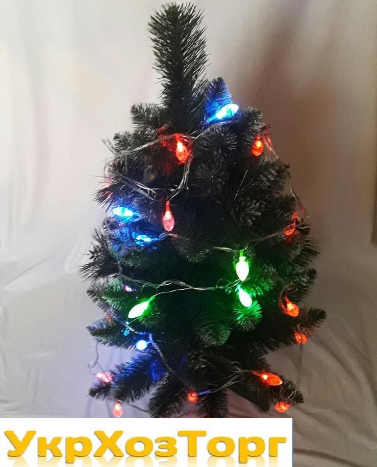 Новогодняя гирлянда шишки 28 лампочек