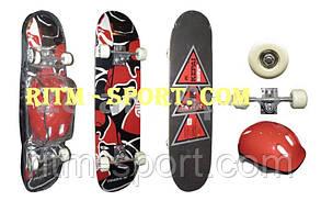 Скейтборд со шлемом KEPAI , фото 3