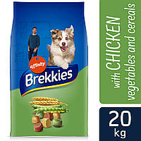 Brekkies (Бреккис) Dog Chicken для собак всех пород 20кг