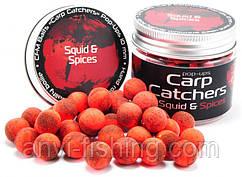 Бойлы pop-up Carp Catchers «Squid&Spices» 10mm