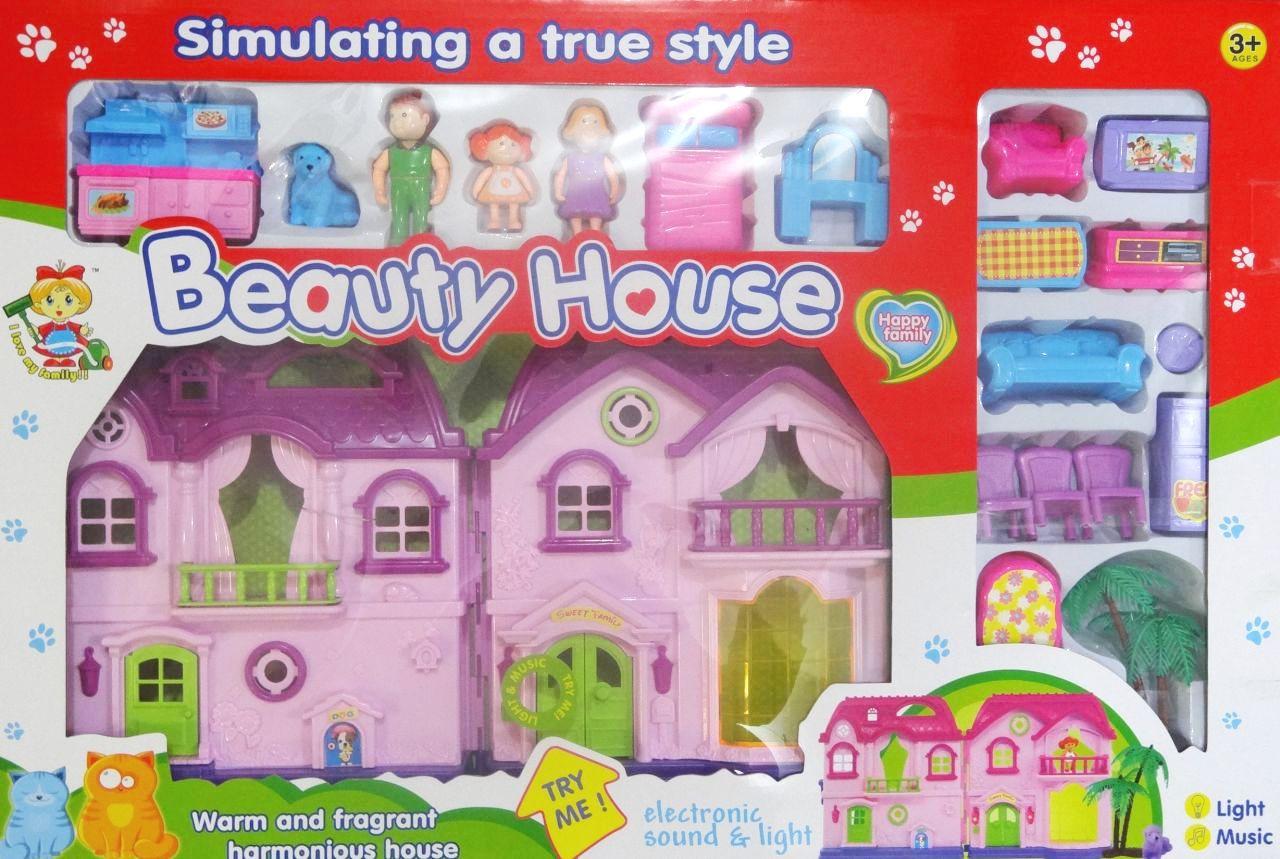 Кукольный домик для куклы Beauty House 32663A