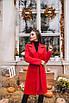 Женское пальто Красный, фото 3