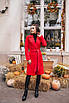 Женское пальто Красный, фото 4