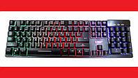 Клавиатура KEYBOARD ZYG-800 с подсветкой USB, фото 1