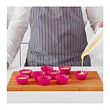 ИКЕА СОККЕРТАКА Формочка для выпечки, розовый, фото 3