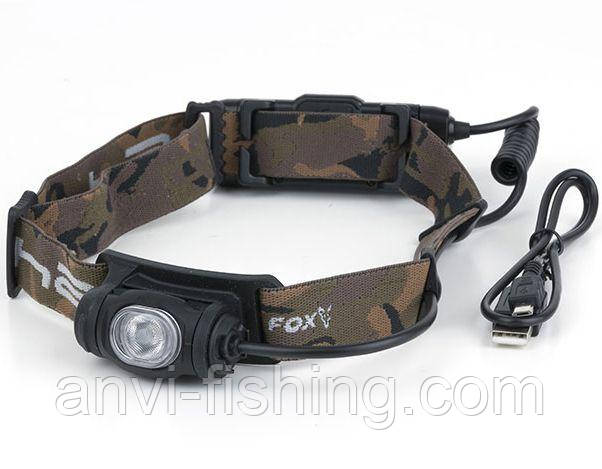 FOX налобный фонарь Halo AL350C (на аккумуляторах)