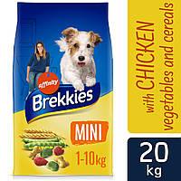 Brekkies (Бреккис) Dog Mini Сухой корм для собак мелких пород, весом от 1 до 10 кг.Вес 20кг