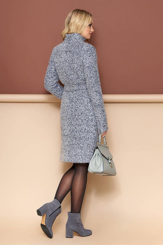 Женское демисезонное пальто шерстяное букле, фото 2