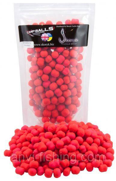 Carpballs Hookers Dumbels Strawberry 12mm-14mm - 250gr (Клубника, тонущие)