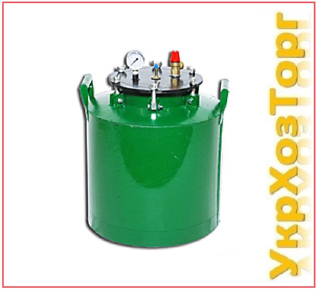 Автоклав зеленый электрический мини барашки (0,5л.-5 банок, 1л.-10 банок)