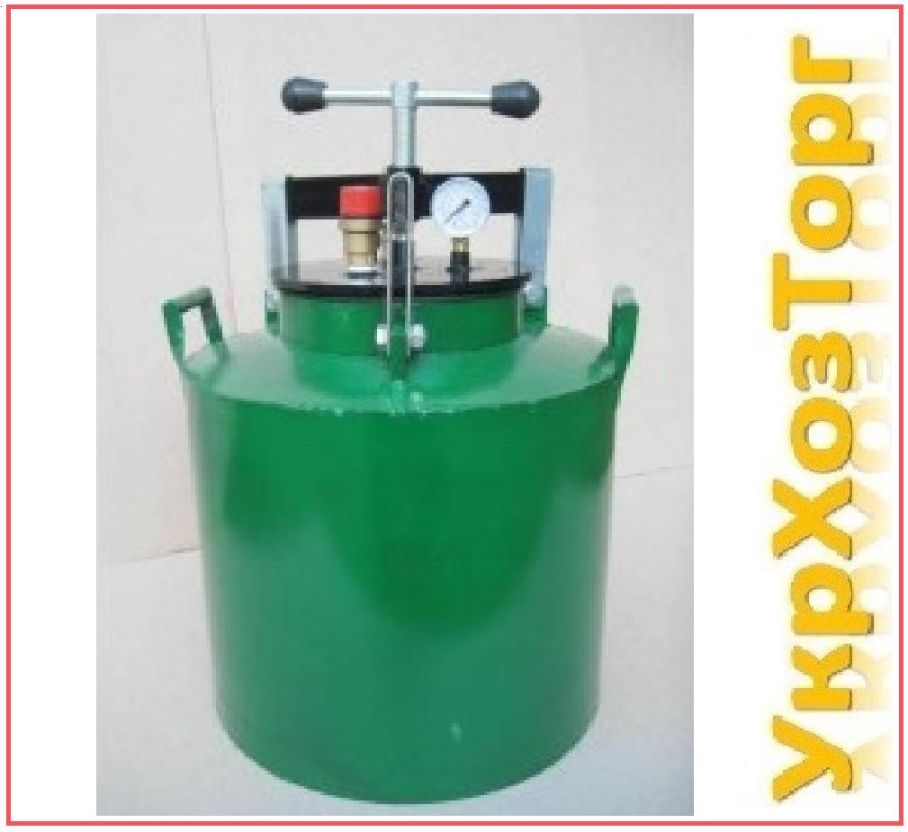 Автоклав зеленый электрический мини винт (0,5л-5 банок, 1л.-10 банок)