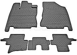 Резиновые коврики (4 шт, Stingray Premium) Infiniti JX 2012+ гг.