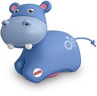 Fisher-Price Развивающая игрушка роллер Бегемот Roller Hippo FRR62, фото 1