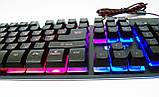 KEYBOARD ZYG 800 Клавиатура USB с подсветкой, фото 2