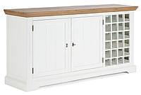 Винный шкаф из дерева 063