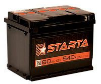 Аккумулятор автомобильный Starta 60AH L+ 540А
