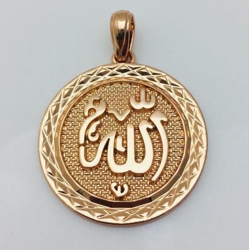 Кулон Арабский мотив, позолота 18К Fallon
