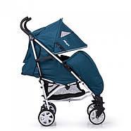 Коляска прогулочная CARRELLO Allegro CRL-10101/1 Aviation Blue текстиль лен Гарантия качества Быстрая доставка, фото 2