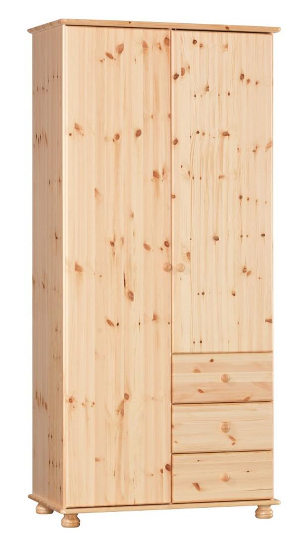 Шкаф из массива дерева 049