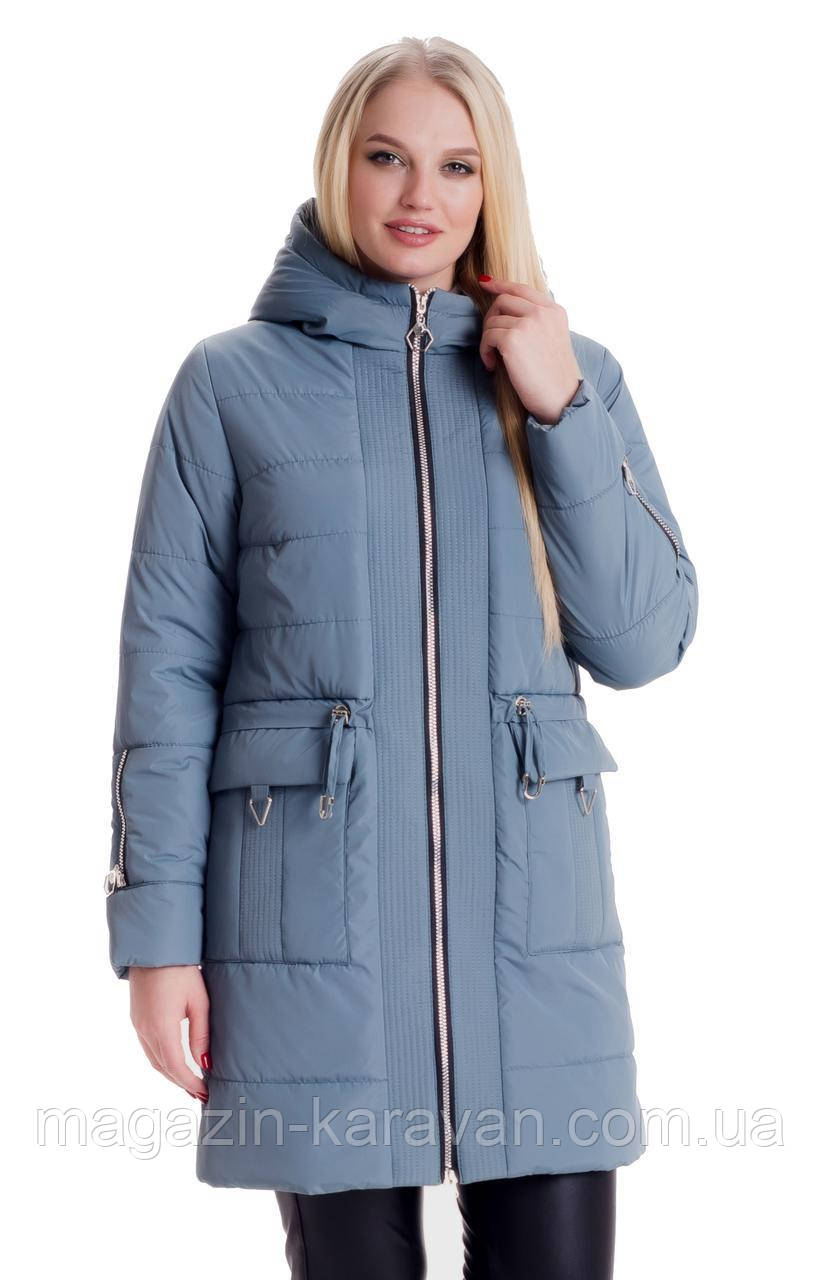 bbdacd4dd86 Весенняя куртка женская удлиненная ЛД5 Мята (44-60) - купить по ...
