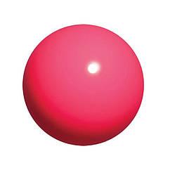 Мяч для гимнастики Chacott 65007-Practice 170мм/330г резина Pink 043