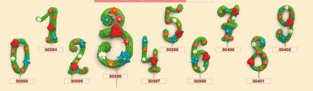 """Цифра """"0-9 Детская""""(код 00720)"""