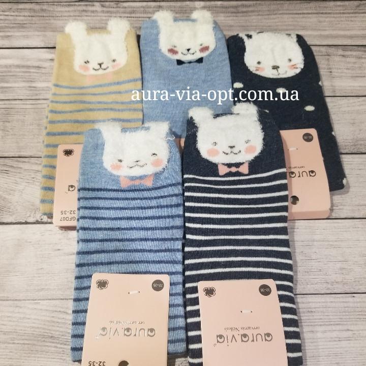 Aura.via. Детские носки с зайками.