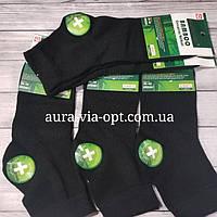 Aura.via. Средниемужские носки Бамбук. Черный