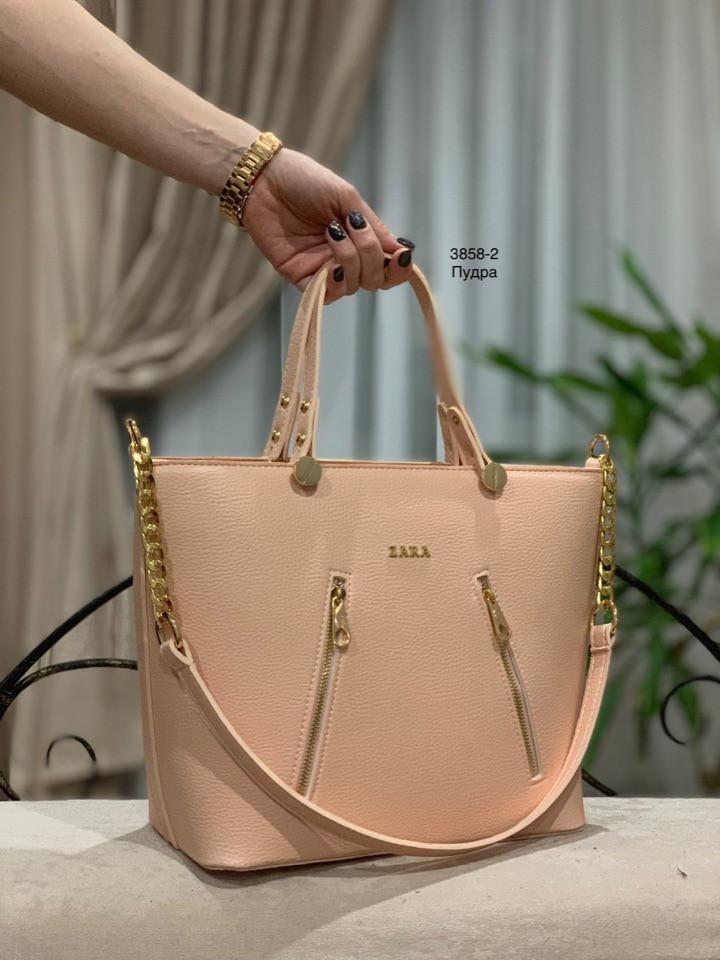 fbf6dd423de7 Женская сумка кожаная вместительная качественная копия топ Zara, ...