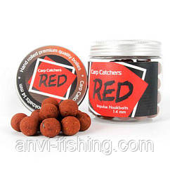 Бойлы тонущие Carp Catchers Impulse Hookbaits «RED» 14 mm