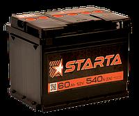 Аккумулятор автомобильный Starta 60AH R+ 540А