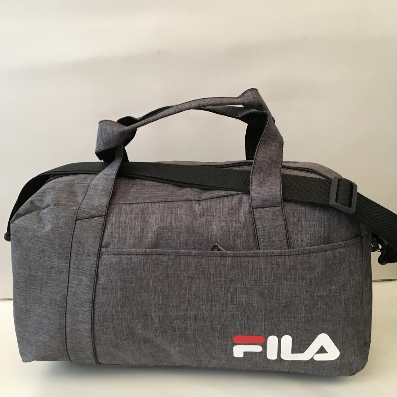 8309a4306630 Большая спортивная сумка FILA с ремнем на плечо, дорожная сумка только  оптом - магазин спортивных