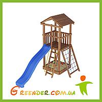 Деревянная детская площадка Лидер 1
