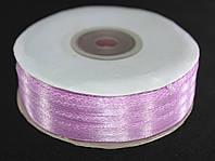 Лента атласная. Цвет - розово-сиреневый. Ширина - 0,3 см, длина - 123 м