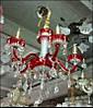 Люстра хрустальная 1015 на 3 лампы