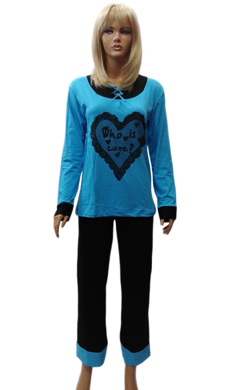 Пижама женская трикотажная производство Турция торговая марка  Night Angel