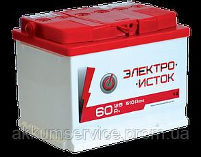 Аккумулятор автомобильный Электроисток 60AH L+ 510А