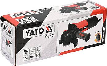 Шлифмашина угловая 125мм YATO YT-82101, фото 2