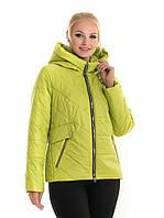 Женская куртка весенняя ЛД 65 лимонный