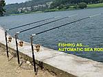 Самоподсекающее удилище Diwa Automatic Rod, фото 5