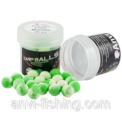 Пробник Carpballs Pop Ups Liver & Mackerel 9 mm (Печень и скумбрия)