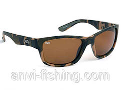 FOX камуфляжные солнцезащитные очки с коричневыми линзами CHUNK