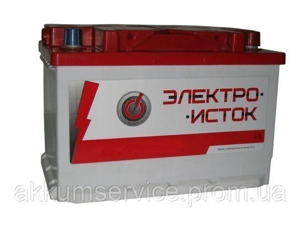 Аккумулятор автомобильный Электроисток 100AH R+ 800А