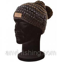 FOX шапка с помпоном CHUNK Heavy Knit (крупная вязка)