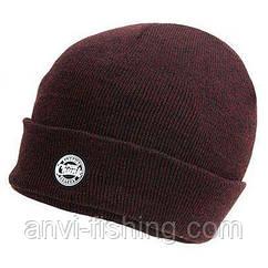 FOX вязаная шапка бини CHUNK Burgundy (Винный цвет)