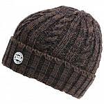 FOX камуфляжная шапка бини плотной вязки CHUNK, фото 2