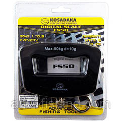 Весы электронные Kosadaka FS50 до 50кг