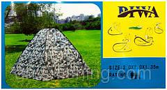 Палатка зимняя автомат DIWA Белый камуфляж 2х2м (аналог KAIDA, Winner)