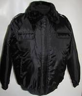 Куртка утепленная «Пилот»  с меховым воротником .