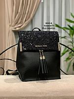Стильный рюкзак Глиттер,кожзам, фото 5